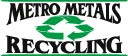 Metro recycling 2 color logo