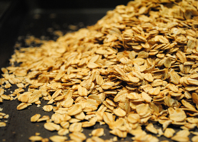 A picture of granola.