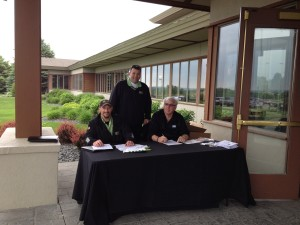 Golf classic Registration Booth