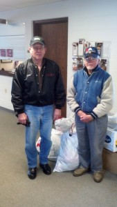 DAV 15 Courthouse Clothing Pick Up--2 Dec 15