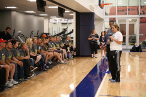 Minnesota Lynx Military Open Practice